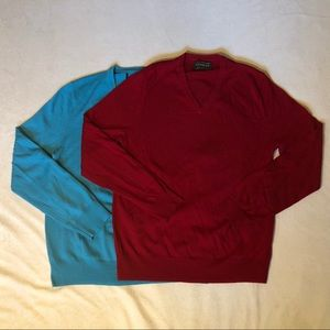 Express V-neck sweaters size Medium.